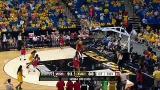 Washington Mystics vs Tulsa Shock Recap