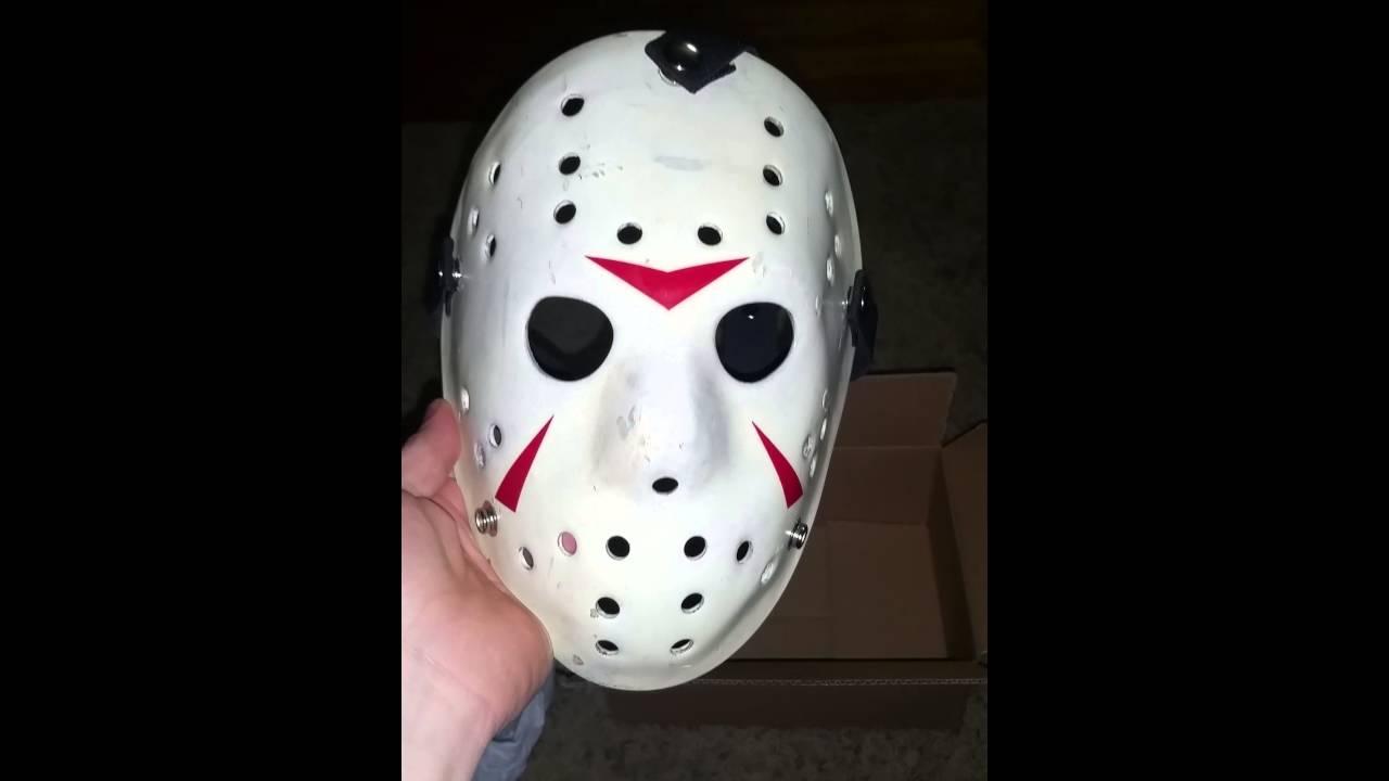 Fiberglass Jason Mask Unboxing Part 3 Youtube