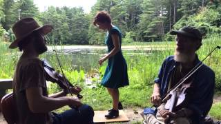 Stone's Rag - Jon Bekoff (RIP) & Nate Paine - Twin Fiddles and buckdancer