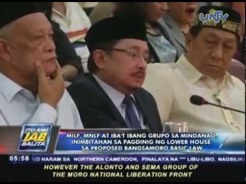 MILF, MNLF at ibat-ibang grupo sa Mindanao, inimbitahan sa pagdinig para sa BBL