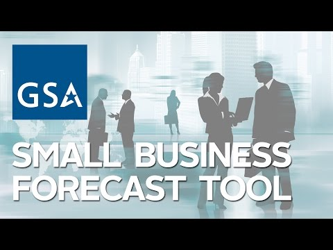 New GSA Small Business Forecast Tool