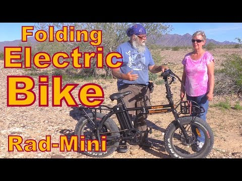 Rad-Mini Folding Electric Bike