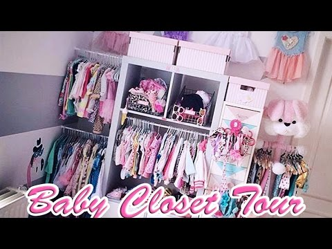 3 baby closet tour organisation du dressing de bebe youtube. Black Bedroom Furniture Sets. Home Design Ideas