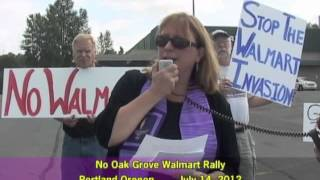 No Oak Grove Walmart Rally