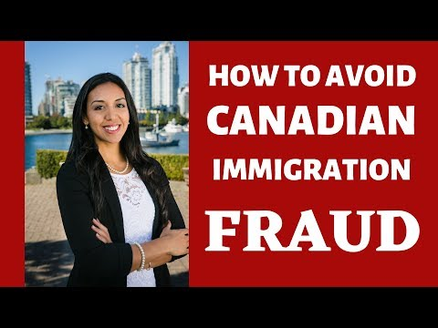 How to Avoid Canadian Immigration Fraud