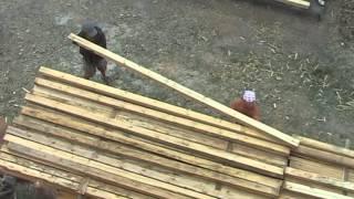 Строительство соломенного дома в Волгограде.Часть1