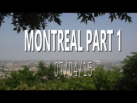 Montreal Vlog || Labour Day Weekend
