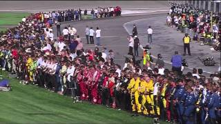 Dan Wheldon Fatal Crash, Death Announcement and Salute - Live (HD) thumbnail