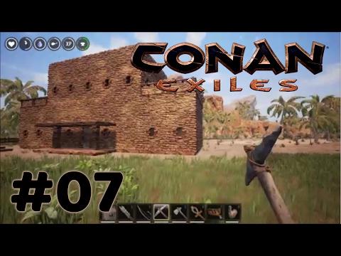 Conan Exiles - Time to Build Some Fences - #07