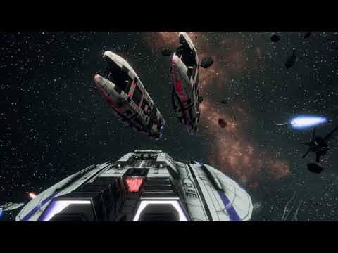 Battlestar Galactica Deadlock - Autocam Battle Footage |