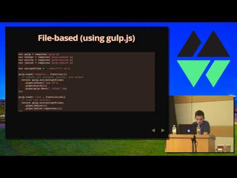 MountainWest JavaScript 2014 - Build Systems The Next Generation by Eric Schoffstall