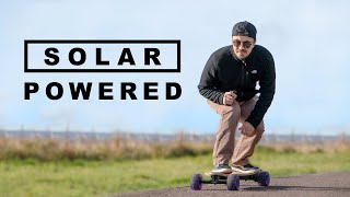 Can You Power an Electric Skateboard Using the Sun?