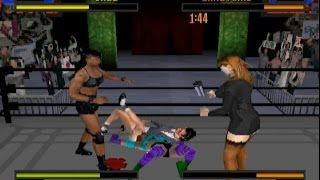 ECW Anarchy Rulz (PLAYSTATION) Various Matches
