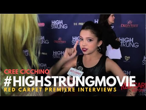 "Cree Cicchino #GameShakers at the Red Carpet Premiere for ""High Strung"" #‎HighStrungMovie"