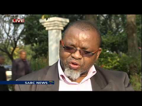 Gwede Mantashe briefs the media on ANC candidate' list
