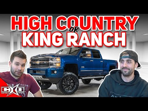 High Country or King Ranch?  This or That