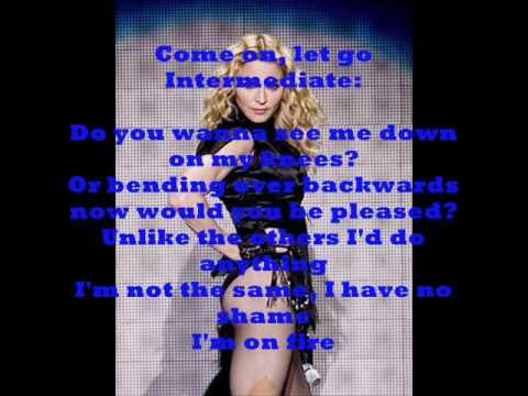 03. Madonna ~Burning up (+lyrics)