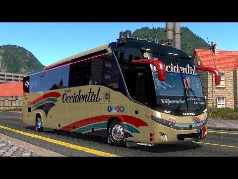 BUS FLOTA OCCIDENTAL RUMBO A PEREIRA!! HINO AK 700 | EURO TRUCK SIMULATOR 2