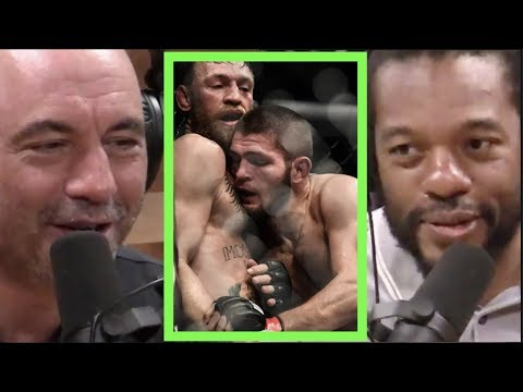 Herb Dean on What Khabib Says During His Fights | Joe Rogan