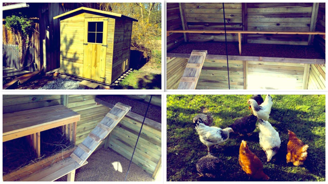 Hühnerstall Selber Bauen (Aus Einem Gartenhaus) - Youtube