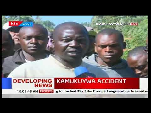 DEVELOPING STORY: Accident at Kamukuywa Bridge along Bungoma-Kitale road claims 19 lives