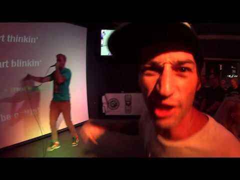 Awesome guy owns pub karaoke