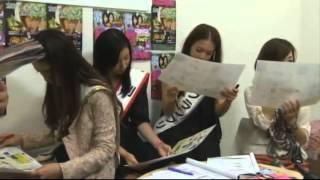 心斎橋ガールズコンテスト受賞者の美女たちへ編集部員がクイズを出題!...