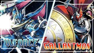 Digimon Card Game : UlforceVeedramon (Blue) VS Gallantmon (Red)