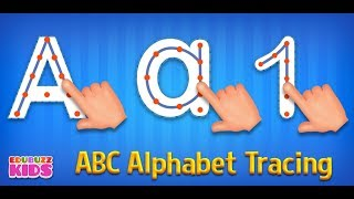 ABC Alphabet Tracing Game for Kids Free App from EduBuzzKids for Android Phones/Tablets