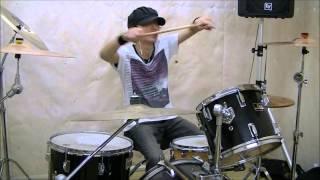 吉井和哉(THE YELLOW MONKEY) 『LOVE LOVE SHOW(RIJF06ライブ)』ドラム叩いてみた