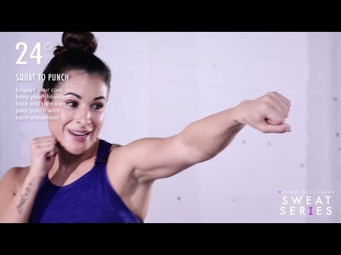 5 Minute Full-Body Boxing Workout | Sweat Series | Well+Good
