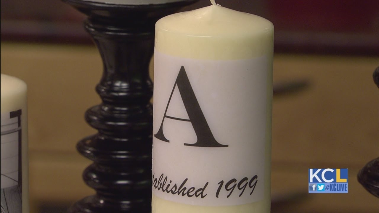 kcl how to make personalized candles youtube