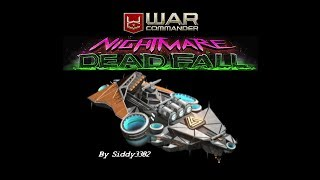 War Commander Operation: Nightmare Dead Fall, Missions 9-12 Using Shepherd Mostly.