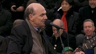 Inauguration Day 2013: James Taylor Performs
