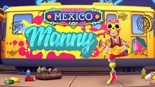 Subway Surfers World Tour 2019 Halloween - Mexico - Unlocked Halloween Special Manny