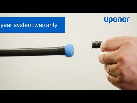 Uponor Quick&Easy System With Black PEX Pipe (Australia Only)