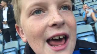 COVENTRY CITY VS WYCOMBE WANDERERS MATCHDAY VLOG!