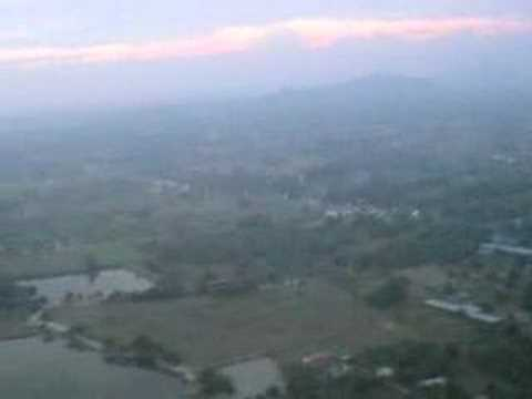 Landing at Hua Hin airport - YouTube