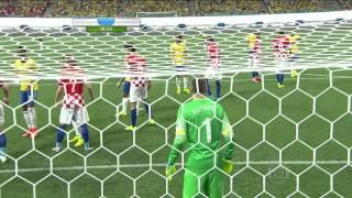 Brasil x Croacia Primeiro Tempo 720p HDTV