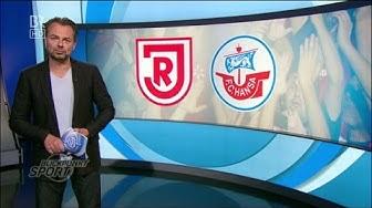 Jahn Regensburg gegen Hansa Rostock - 5. Spieltag 14/15 - Blickpunkt Sport