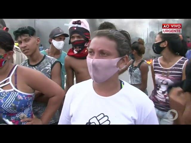 Moradores de Bayeux realizem protesto na BR-230- Com Você