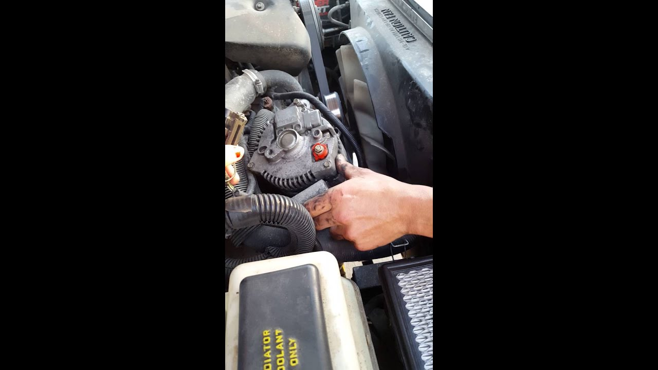 How To Remove An Alternator On A 1999 Ford Explorer 4 0