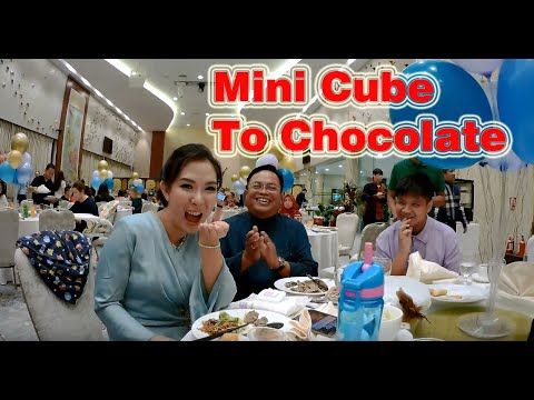Mini Cube To Chocolate By Henry Harrius