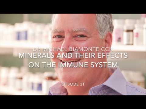 Episode 31 Minerals And Their Effects On The Immune System