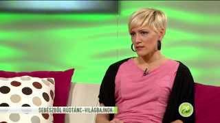 Rúdtánc karrierre cserélte sebészi állását Szlávy Eszter - 2015.02.27. - tv2.hu/fem3cafe
