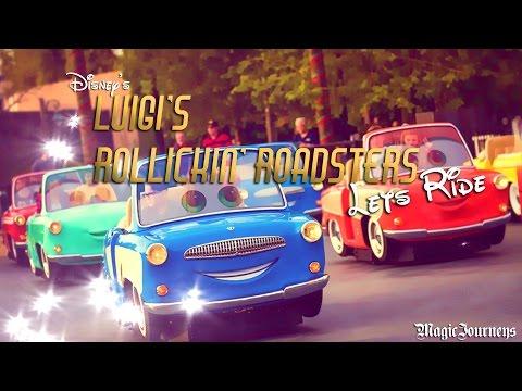 let's Explore Disney's New Luigi's Rollickin' Roadsters attraction!