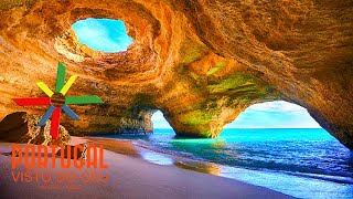 CarvoeiroCaves boat tours to the caves of Benagil - Algarve - 4K Ultra HD
