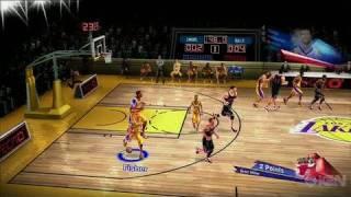 NBA Unrivaled PlayStation 3 Gameplay - Lakers vs. Bulls