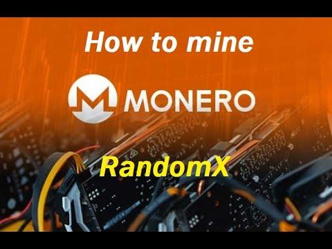 How To Mine RandomX Monero With (old) CPU