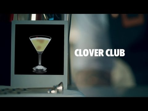 CLOVER CLUB DRINK RECIPE - HOW TO MIX